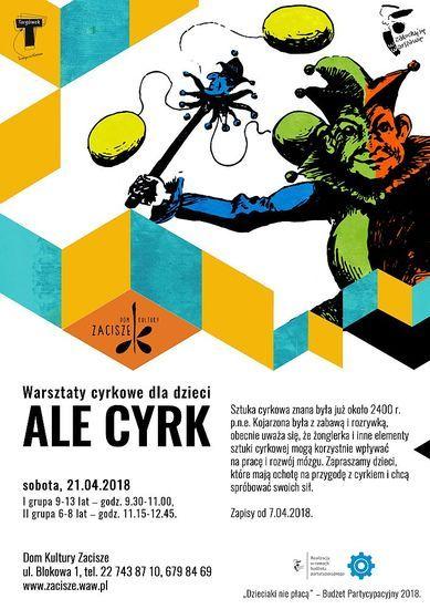 Warsztaty cyrkowe: ALE CYRK
